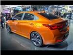 Hyundai Verna Concept 2016 вид сзади