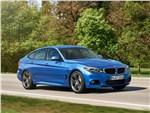 BMW 3 Series GT - BMW 3 series GT 2017 вид спереди сбоку