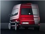 Volkswagen Crafter concept 2016 вид сзади