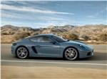 Porsche 718 Cayman - Porsche 718 Cayman 2017 вид сбоку