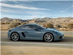 Porsche 718 Cayman 2017 вид сбоку