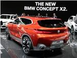 BMW X2 concept 2016 сзади