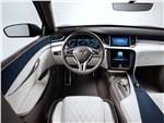 Infiniti QX50 Concept 2017 водительское место