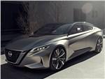 Nissan Vmotion 2.0 Concept 2017 вид спереди сбоку