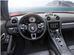Porsche 718 Boxster 2017 салон