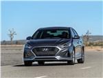 Hyundai Sonata - Hyundai Sonata 2018 вид спереди