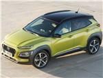 Hyundai Kona 2018 вид сверху