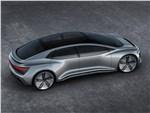 Audi Aicon concept 2017 вид сверху
