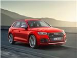 Audi SQ5 3.0 TFSI 2018 вид спереди сбоку