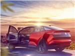 Volkswagen ID Crozz Concept 2017 вид сбоку сзади