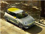 Mini Electric Concept 2017 вид сверху