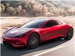 Tesla Motors Roadster - Tesla Rodster Concept 2020 вид спереди сбоку