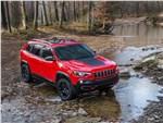 Jeep Cherokee 2019 вид спереди