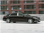 Mercedes-Benz S-Class Maybach - Mercedes-Maybach S 450 4Matic 2018 вид сбоку спереди