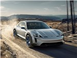 Porsche Mission E Cross Turismo - Porsche Mission E Cross Turismo Concept 2018 вид спереди