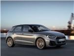 Audi A1 Sportback 2019 вид спереди сбоку