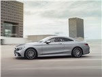 Mercedes S 560 Coupe 4matic 2018: вид сбоку
