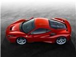 Ferrari F8 Tributo - Ferrari F8 Tributo 2020 вид сбоку сверху
