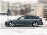 Audi RS4 - Audi RS4 Avant 2018 вид сбоку