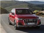 Audi Q7 - Audi Q7 2020 вид спереди