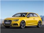 Audi S3 - Audi S3 2017 вид спереди сбоку