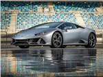 Lamborghini Huracan Evo - Lamborghini Huracan Evo 2019 вид спереди сбоку