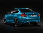 BMW M2 - BMW M2 Coupe 2018 вид сзади