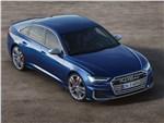 Audi S6 - Audi S6 Sedan TDI 2020 вид сверху