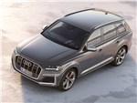 Audi SQ7 - Audi SQ7 TDI 2020 вид спереди сверху