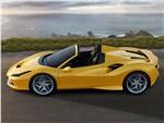 Ferrari F8 Spider - Ferrari F8 Spider 2020 вид сбоку