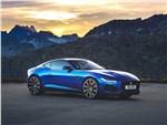 Jaguar F-Type - Jaguar F-Type 2021 вид спереди сбоку