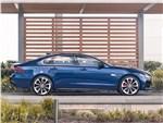 Jaguar XF - Jaguar XF (2021) вид сбоку