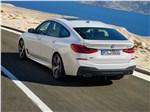 BMW 6 series - BMW 6-Series Gran Turismo 2018 вид сзади сбоку