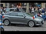 Инаугурация Франсуа Оланда - приветствие президента из Citroen C5