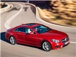Mercedes-Benz CLS-Class - Mercedes-Benz CLS-Klasse 2015 вид сверху