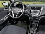 Hyundai Solaris 2014 водительское место