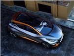 Nissan Sway Concept 2015 вид сверху