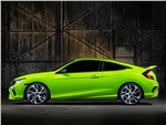 Honda Civic Concept 2015 вид сбоку