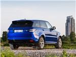 Land Rover Range Rover Sport - Land Rover Range Rover Sport SVR 2015 вид сзади