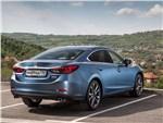 Mazda 6 - Mazda 6 2016 вид сзади