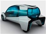 Toyota FCV Plus concept 2015 вид сзади