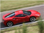 Ferrari 488 GTB - Ferrari 488 GTB 2016 вид сверху