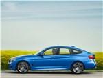 BMW 3 series GT 2017 вид сбоку