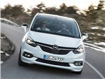 Opel Zafira - Opel Zafira 2017 на дороге