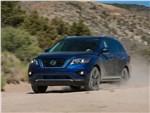 Nissan Pathfinder - Nissan Pathfinder 2017 вид спереди сбоку
