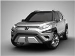 SsangYong XAVL Concept 2017 вид спереди