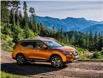 Nissan X-Trail - Nissan X-Trail 2018 вид спереди сбоку