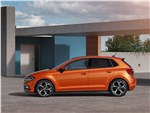 Volkswagen Polo - Volkswagen Polo 2018 вид сбоку