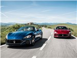Maserati GranTurismo 2018 купе и кабриолет вид спереди