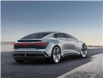 Audi Aicon concept 2017 вид сзади